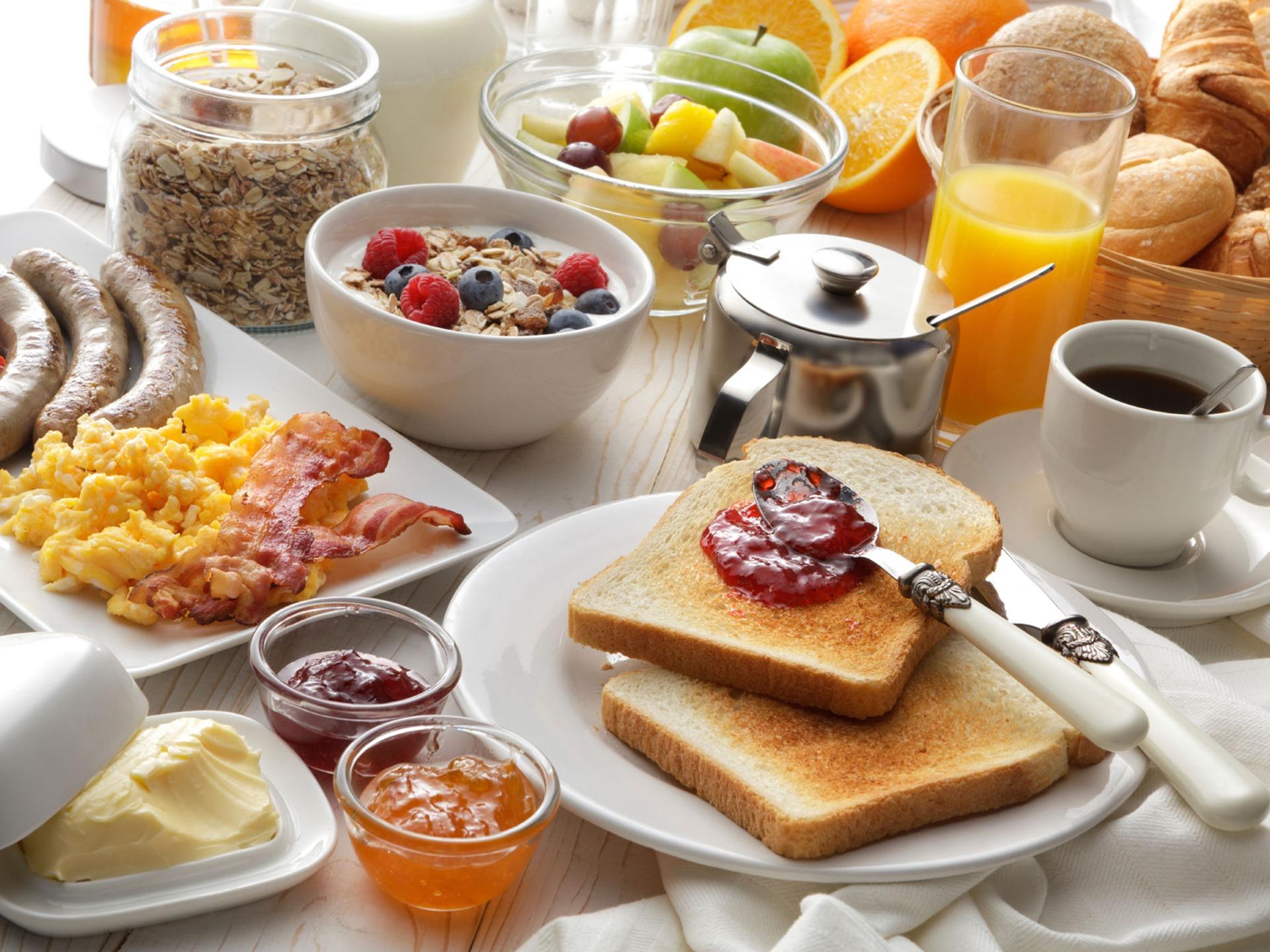 朝食 プロテイン