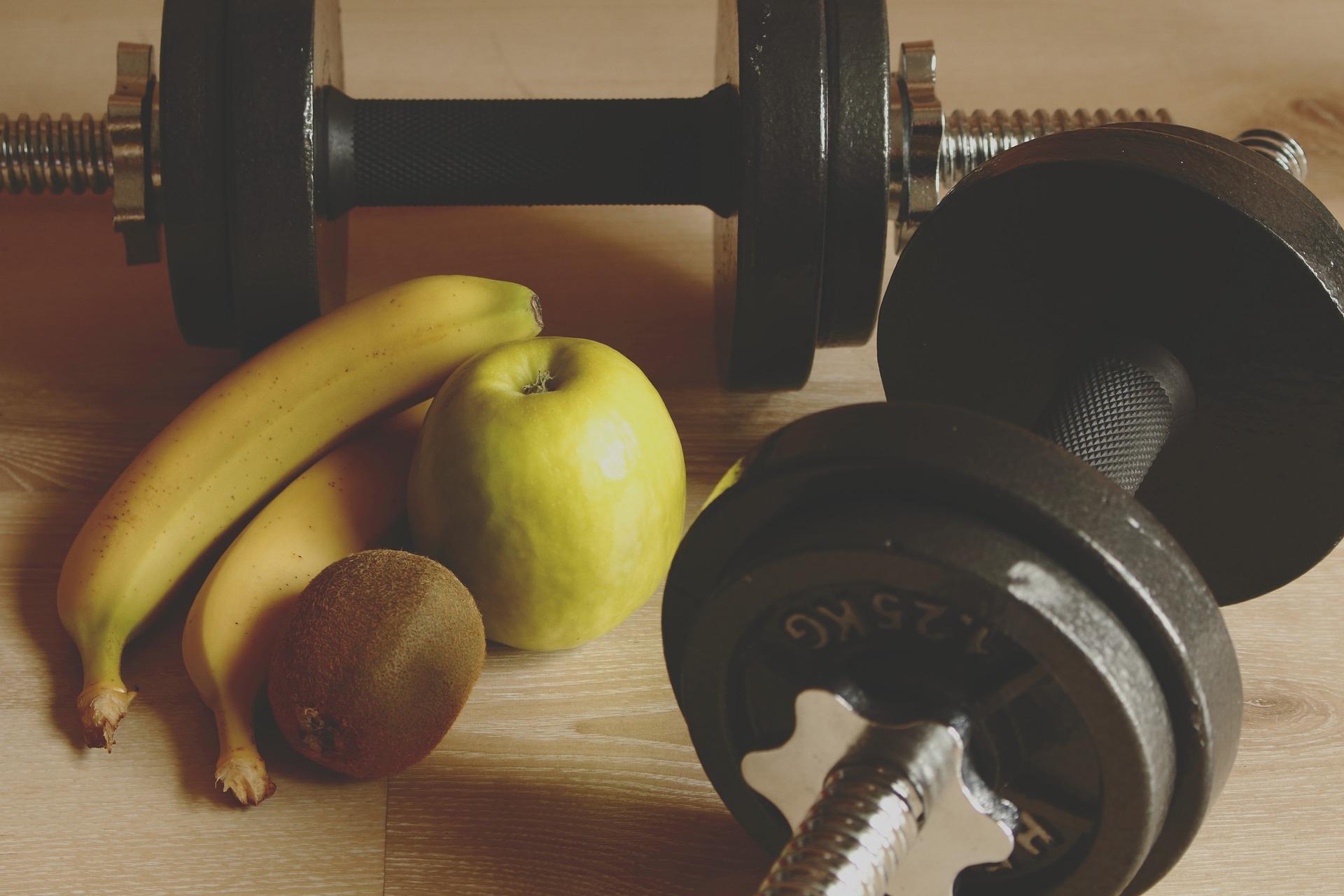 運動前後 糖質バナナ