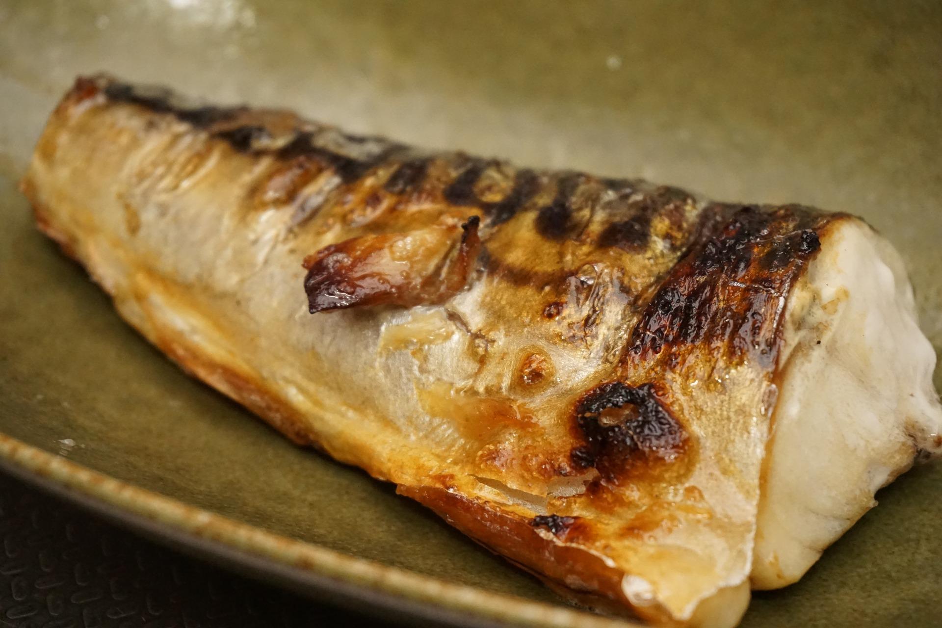 焼き魚 消化酵素 アミラーゼ